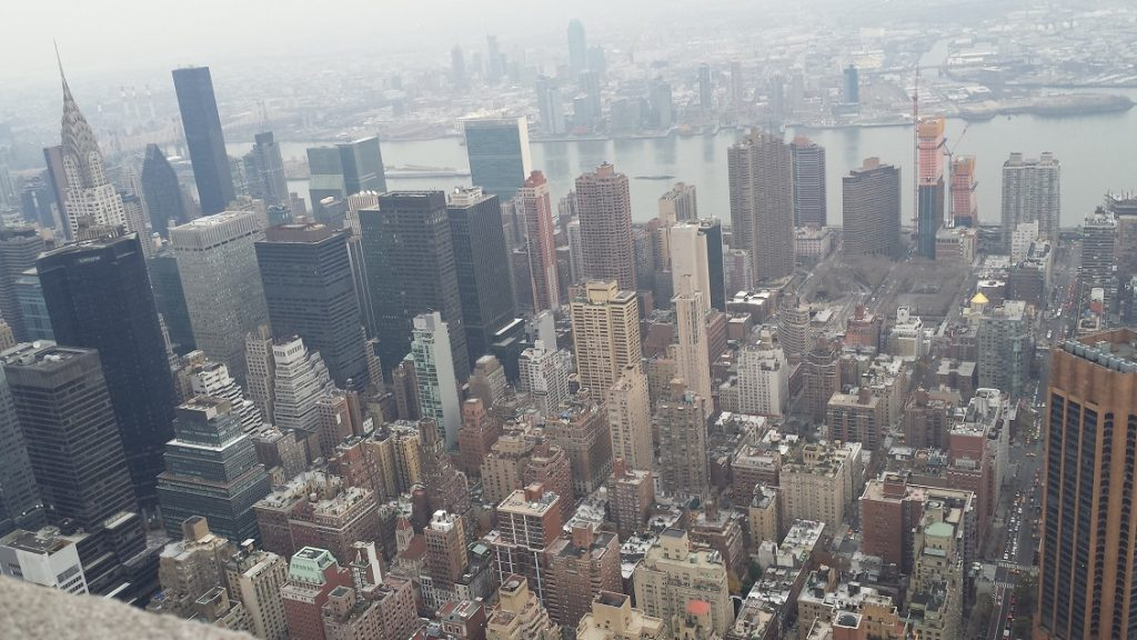 on top of the Empire State building (19)
